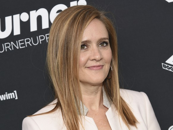 FILE - In this May 18, 2016 file photo, Samantha Bee attends the Turner Network 2016 Upfronts in New York. TBS announced on Wednesday, Nov. 16, that