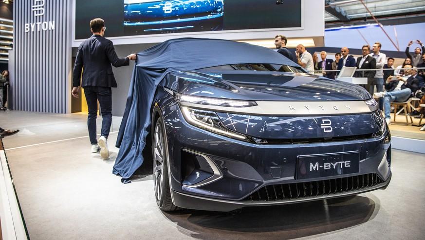 VW, Honda und Byton zeigen ihre Tesla-Herausforderer – alle Bilder hier