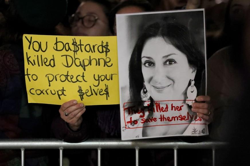 Malta: Journalistinnen-Mord soll von Regierungskreisen gedeckt worden sein