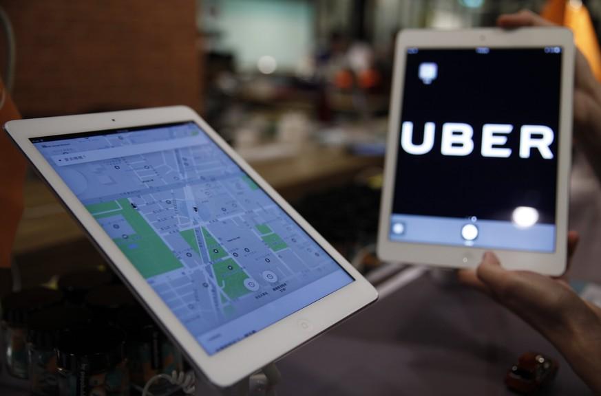 Uber macht Jahresverlust von 4,46 Milliarden US-Dollar