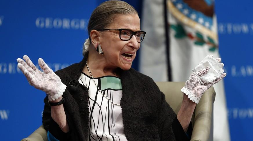 USA: Ruth Bader Ginsburg wird mit MTV-Award geehrt