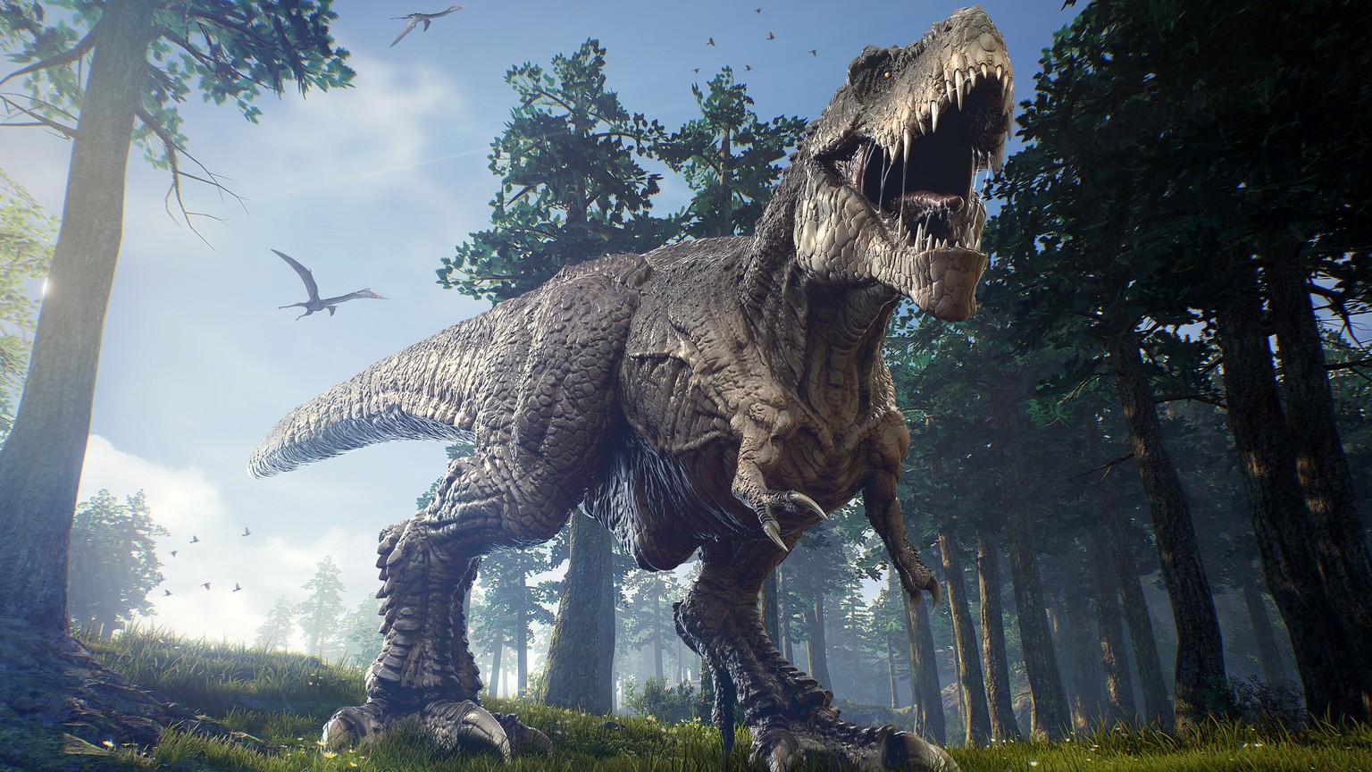 die dinosaurier lebten auf der anderen seite der