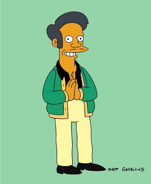This image released by Fox shows the character Apu, an Indian shop owner featured on