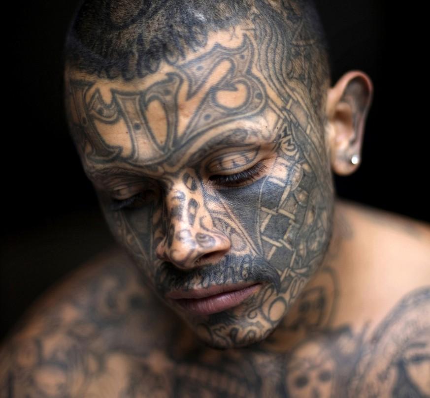 Das Bedeuten Die Tattoos Der Zentralamerikanischen Gangs Watson