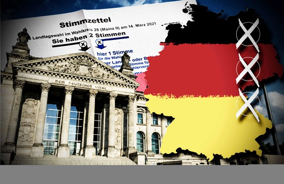 Alle Hochrechnungen und Ergebnisse der Bundestagswahl 2021