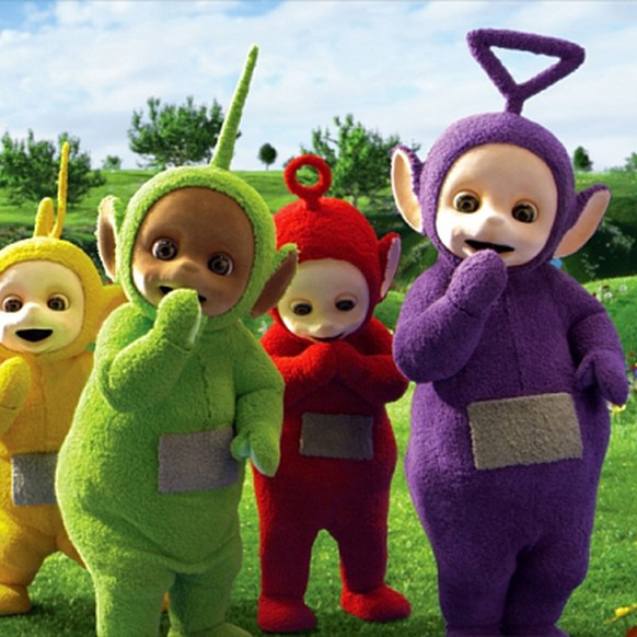 Programme Name: Teletubbies 2015 - TX: n/a - Episode: Teletubbies - ep 1 (No. 1) - Picture Shows:  Laa-Laa, Dipsy, Po, Tinky Winky - (C) Teletubbies Production LTD - Photographer: -