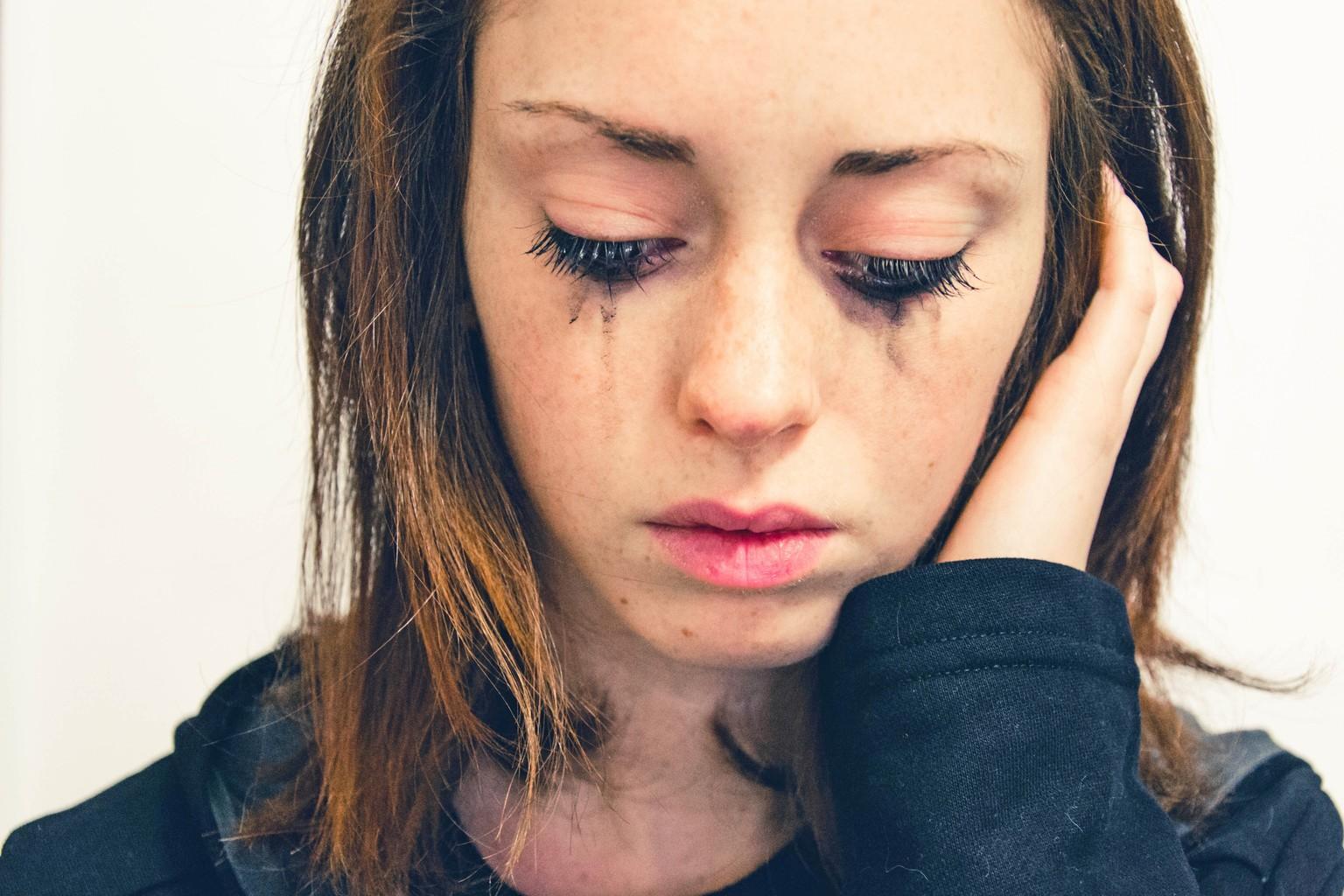 Muss immer weinen ohne grund