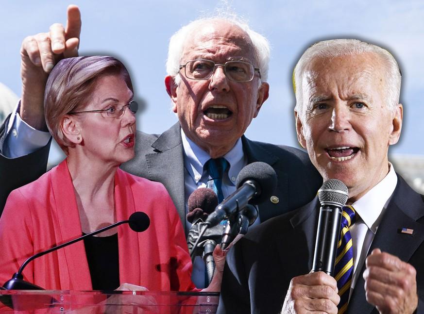 Erste TV-Debatte der Demokraten mit Biden, Warren, Sanders und Co.