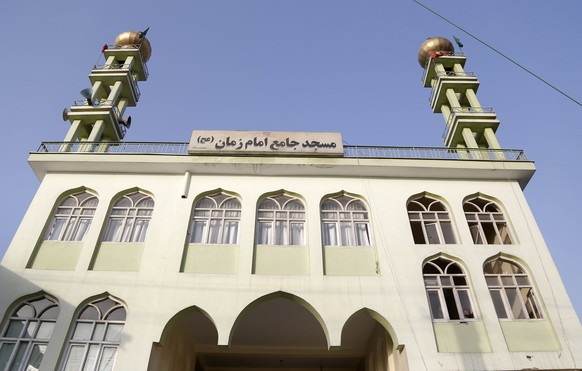 epa06279644 A view of Imam Zaman, a Shi'ite Muslim mosque, after a suicide bomb attack that targeted a Shi'ite Muslims Mosque in Kabul, Afghanistan, 21 October 2017. Nearly 70 people were killed on 20 October, in a pair of suicide attacks on mosques in Afghanistan's capital Kabul and in the western province of Ghor while more than 100 were wounded. A suicide bomber detonated explosives inside a mosque in a neighborhood of Kabul predominantly populated by the Shiite Hazara minority, a ethnic group thought to be of Mongolian origin, the second-largest branch of Islam. The vast majority of Afghans are Sunni Muslims.  EPA/HEDAYATULLAH AMID