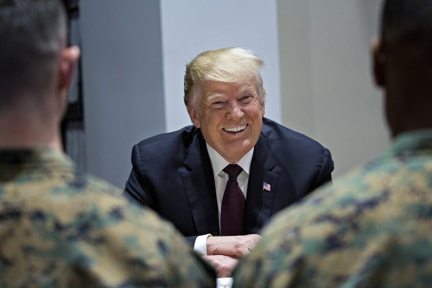 Stoltenberg: Trumps Forderungen nach höheren Nato-Militärausgaben zeigen Wirkung