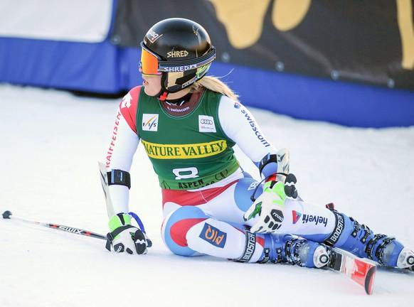 29.11.2014; Aspen; Ski Alpin - Weltcup Aspen 2014 - Riesenslalom Frauen; Lara Gut (SUI) (Erich Spiess/Expa/freshfocus)