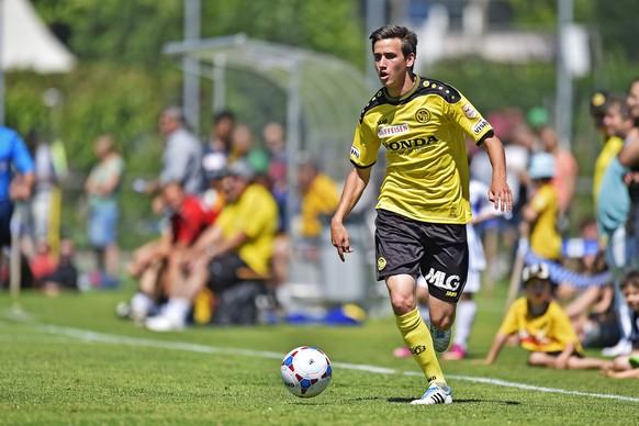 21.06.2014; Bern; Fussball - BSC Young Boys - FC Schaffhausen;Sven Joss (YB)(Urs Lindt/freshfocus)