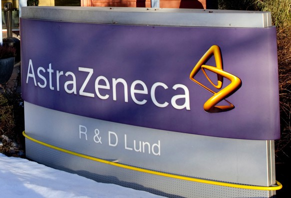 epa08959305 (FILE) - A file photo dated 02 March 2010 showing the company sign outside the Pharmaceutical company AstraZeneca research and development plant in Lund, Sweden (reissued 23 January 2021). Media reports on 23 January 2021 state  AstraZeneca, that was to deliver some 80 million doses of its vaccine starting in March 2021 to European countries, has said it would cut its Covid-19 vaccine deliveries by 60 per cent, or 31 million doses, in the 1st quarter 2021. AstraZeneca cited production problems as reason for the delivery issues.  EPA/DRAGO PRVULOVIC SWEDEN OUT *** Local Caption *** 53679653