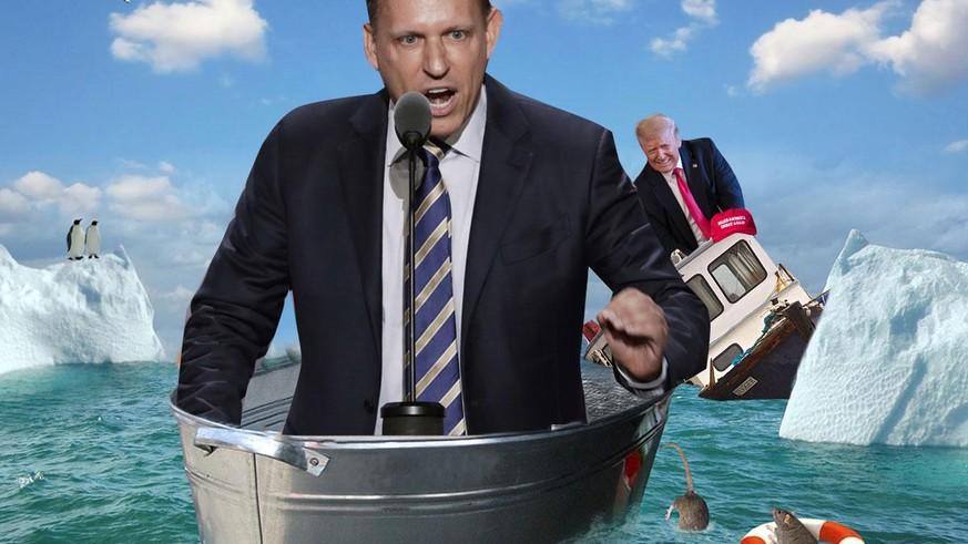 Die ersten Ratten verlassen das sinkende Trump-Schiff