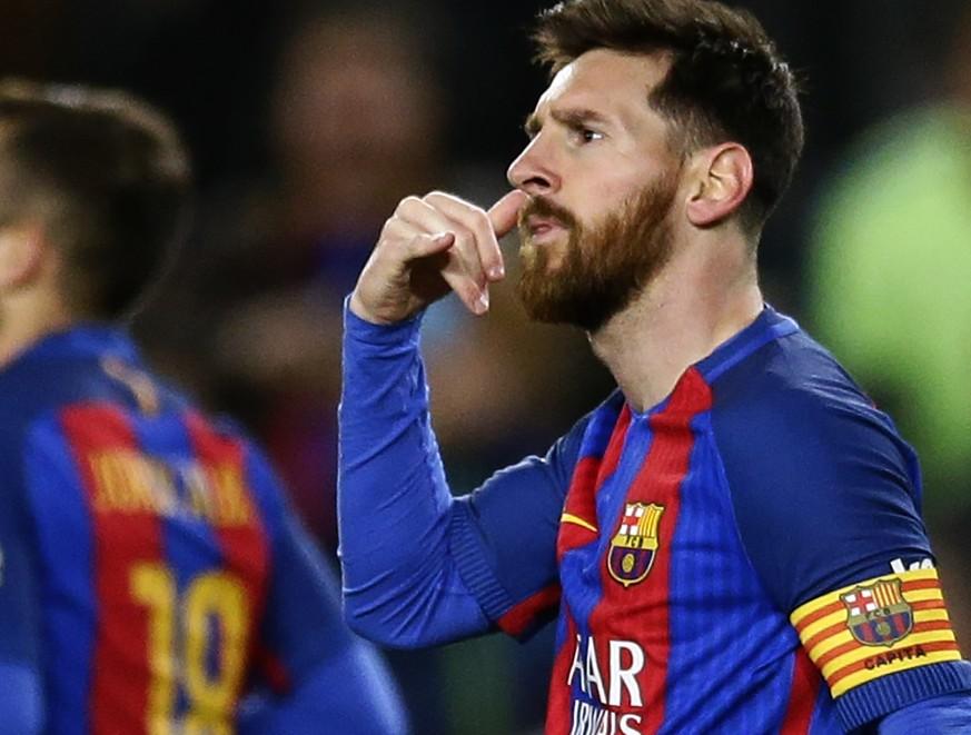 Das Ist Der Grund Fur Lionel Messis Telefon Jubel Gegen Celta Watson