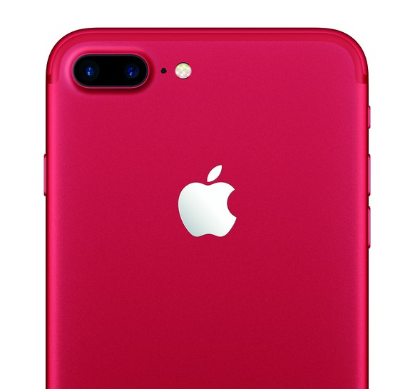 iPhone 7 Plus in Rot