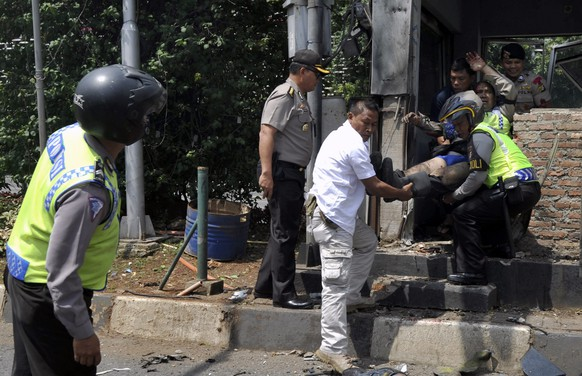 INDONESIA JAKARTA ATTACK