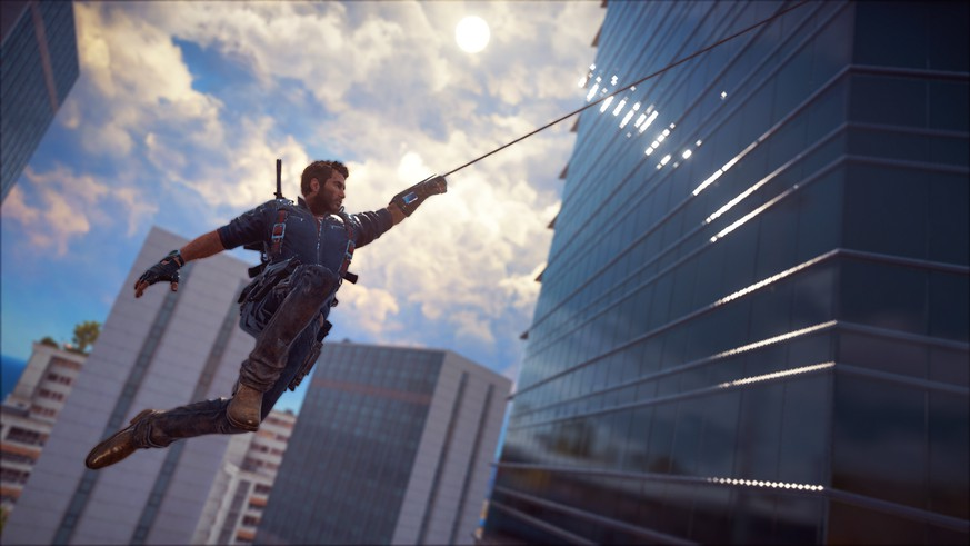This image provided by Avalanche Studios shows a scene from the video game,