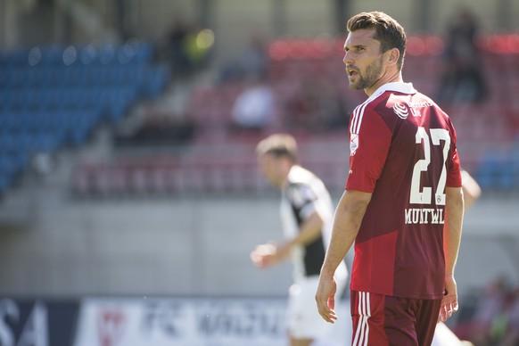 19.04.2015; Vaduz; Fussball Super League - FC Vaduz - FC Aarau; Philipp Muntwiler (Vaduz) (Michael Zanghellini/freshfocus)