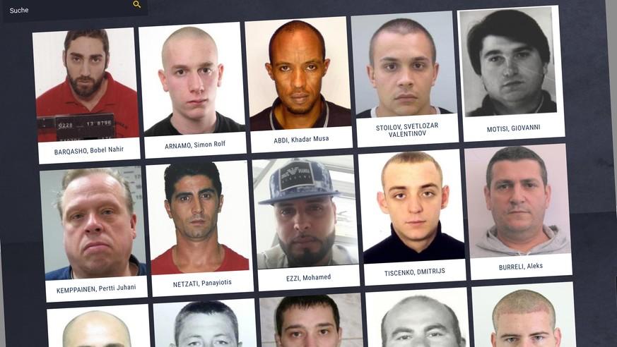 Adventskalender Von Europol Zeigt Meistgesuchte Verbrecher Watson