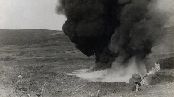 erster weltkrieg westfront 1918 (br)