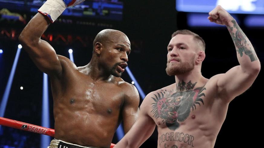Offiziell Es Kommt Zum Superfight Floyd Mayweather Gegen Conor