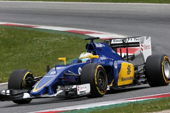 20.06.2015; Spielberg; Formel 1 - Training GP Oesterreich 2015; Marcus Ericsson (SWE) Sauber C34 (Mirko Stange/Sutton/freshfocus)
