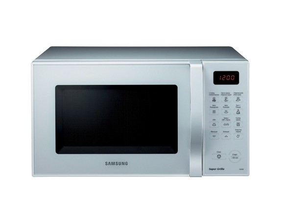 epa01482296 An undated image of a microwave oven produced by Samsung Electronics Co. The global home appliances maker said on 09 September 2008, its accumulated microwave oven sales in Russia surpassed 10 million units, a record in the Russian market.  EPA/YONHAP