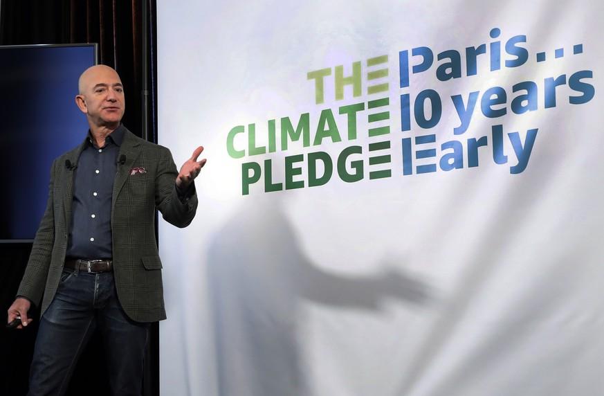 Jeff Bezos will zehn Milliarden Dollar für Klimaschutz spenden