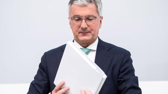 Abraham Schot neuer Audi-Boss statt verhaftetem Rupert Stadler
