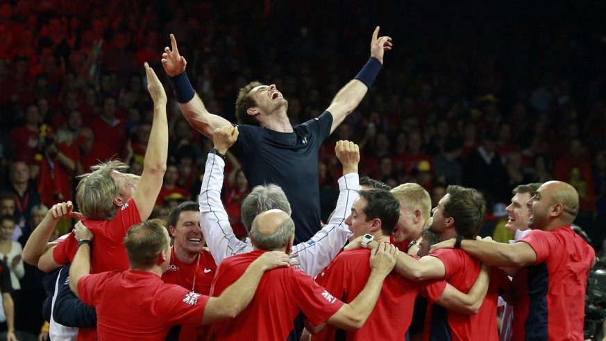 Tennis - Belgium v Great Britain - Davis Cup Final - Flanders Expo, Ghent, Belgium - 29/11/15