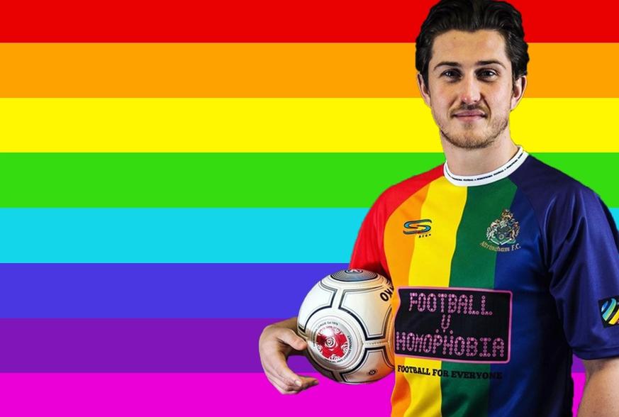 Regenbogen Trikots Gegen Homophobie Im Fussball Watson