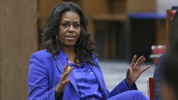 ARCHIV - Michelle Obama, ehemalige First Lady der USA, krisiert Donald Trump. Foto: Teresa Crawford/AP/dpa