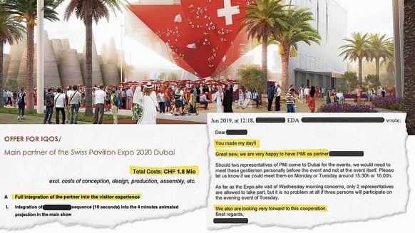 Enthüllt: So wurde Philip Morris zum Schweizer Pavillon-Sponsor für die Expo in Dubai