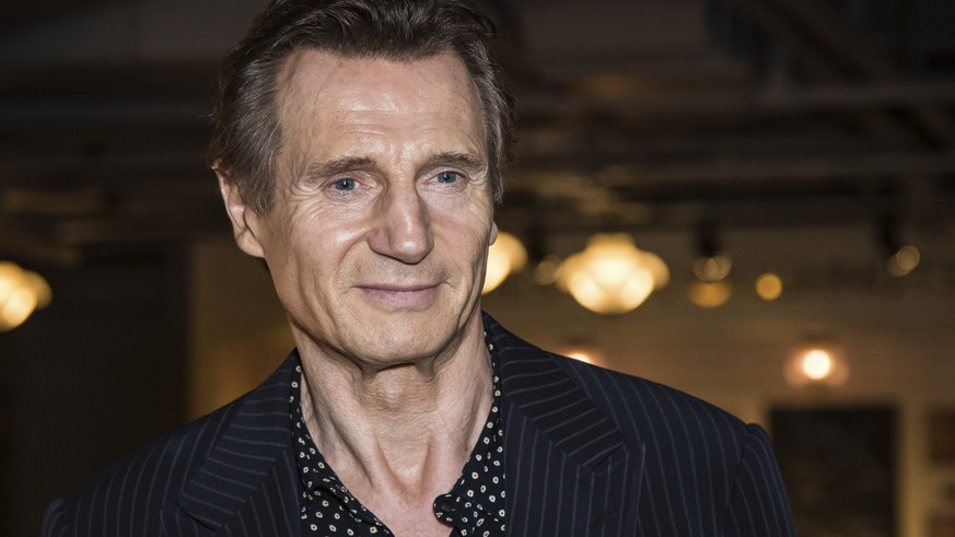 "FILE - In this Tuesday, Sept. 13, 2016 file photo, actor Liam Neeson poses for photographers upon his arrival at the premiere of the film 'Hunt For The Wilderpeople' in London. Liam Neeson says he had violent thoughts some time ago about killing a black person after learning that someone close to him had been raped. The Northern Ireland-born actor says that after being told the attacker was black he ""went up and down areas with a"