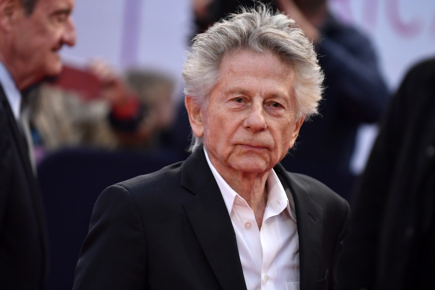 epa07826455 Polish-French director Roman Polanski arrives on the red carpet prior to the premiere 'Music of My Life (Blinded by the Light)' during the 45th Deauville American Film Festival, in Deauville, France, 07 September 2019. The festival runs from 06 to 15 September.  EPA/JULIEN DE ROSA