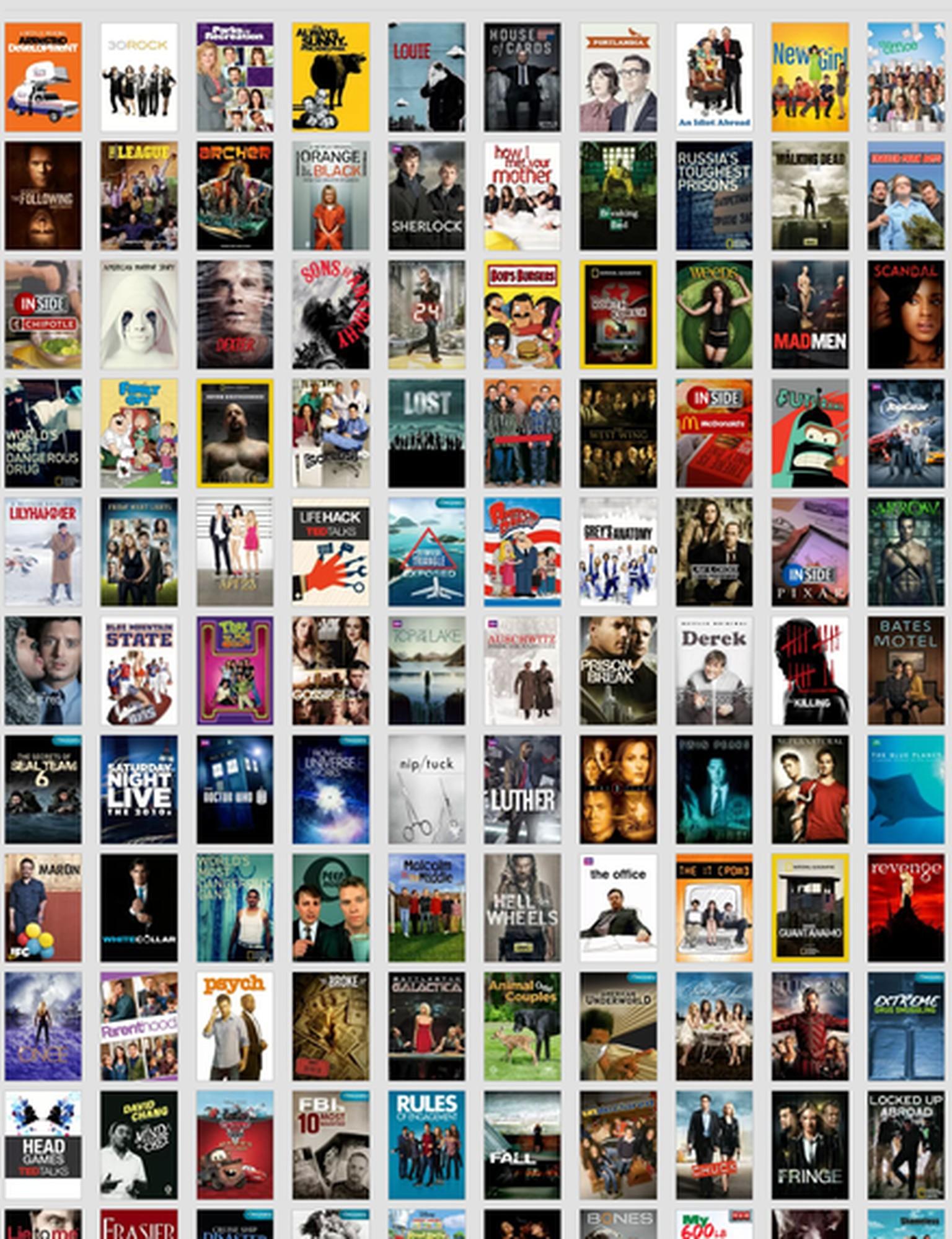 Netflix Serien übersicht