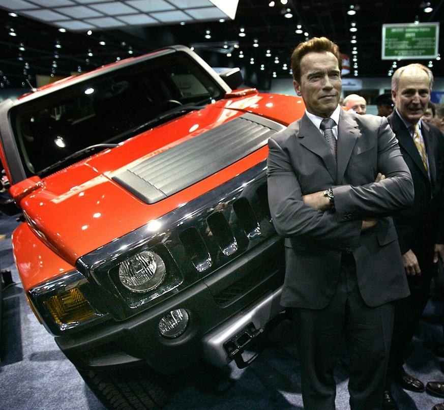 Schwarzenegger freuts: Der Hummer kommt zurück, als Elektro-Monster