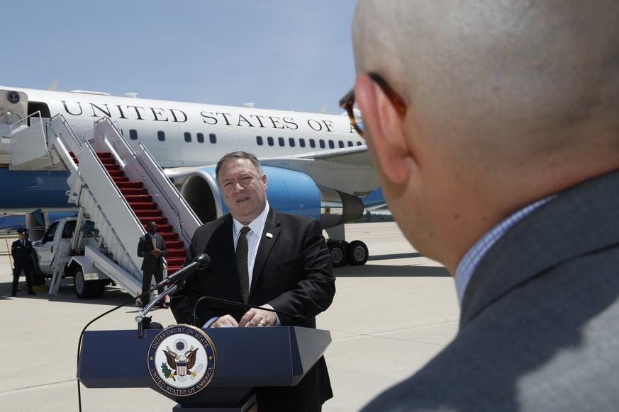 US-Außenminister: Pompeo startet Werbetour für weltweite Koalition gegen Iran