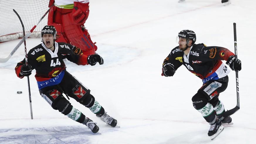 SCB mit Pflichtsieg gegen Rappi – Fribourg schlägt den direkten Konkurrenten Lugano