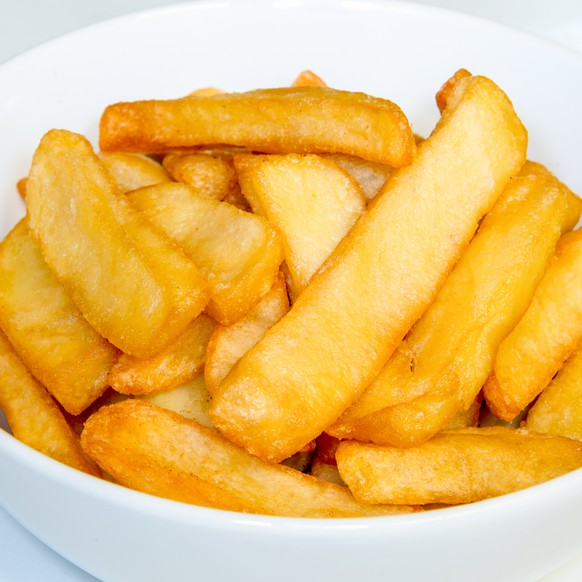 english style chunky chips englische pommes frites kratoffel