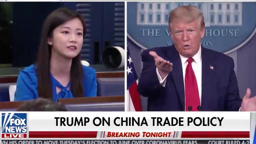4 Highlights und 1 Beleidigung – das war Trumps Corona-Pressekonferenz des Grauens