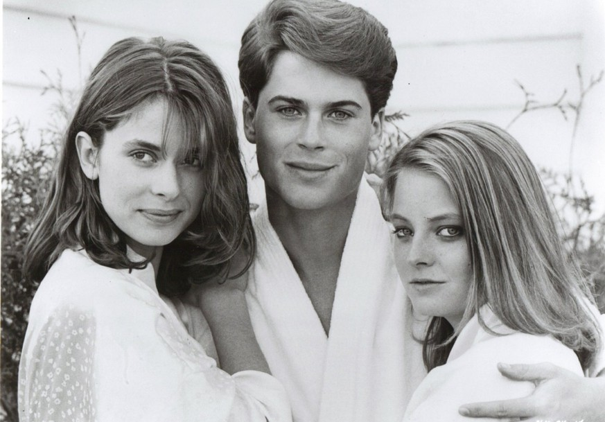 Nastassja Kinski mit Jodie Foster und Rob Lowe in «The Hotel New Hampshire»