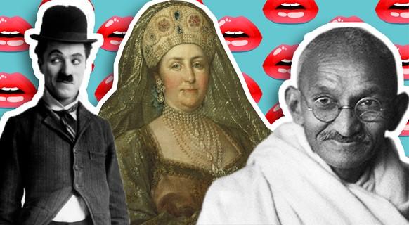 Gandhi, Chaplin und Co. – die Sex-Vorlieben von 9 historischen Persönlichkeiten