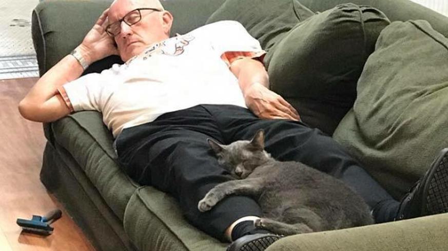 Dieser-Mann-hilft-B-sis-indem-er-sich-ein-Nickerchen-im-Tierheim-g-nnt