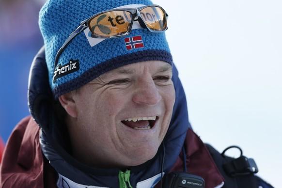 15.01.2016; Wengen; Ski Alpin - Weltcup Wengen 2016 - Alpine Kombination; Speedtrainer Norwegen Reto Nydegger. (Christian Pfander/freshfocus)