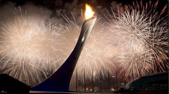Olympische Flamme