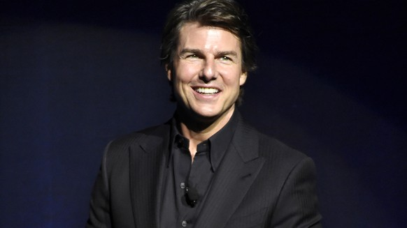 FILE - In this April 21, 2015 file photo, Tom Cruise, star of the upcoming film