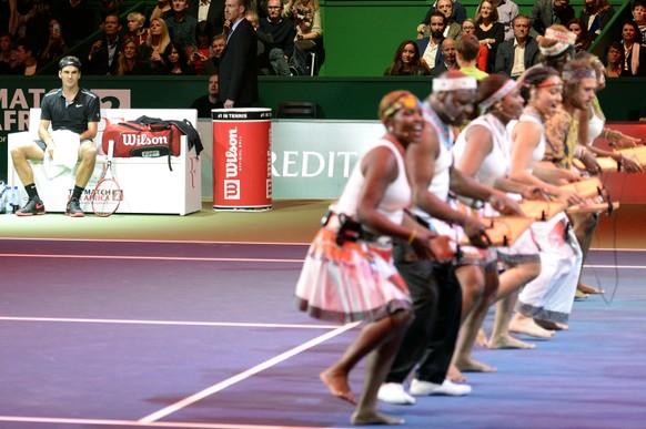 SCHWEIZ TENNIS MATCH FOR AFRICA 2