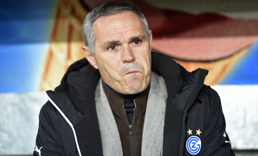 14.02.2015; Bern; Fussball Super League - BSC Young Boys - Grasshopper Club Zuerich;